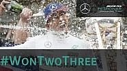 Lewis Hamilton gana su tercer Campeonato del Mundo de F1