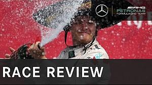 Nico Rosberg ganador del Gran Premio de México