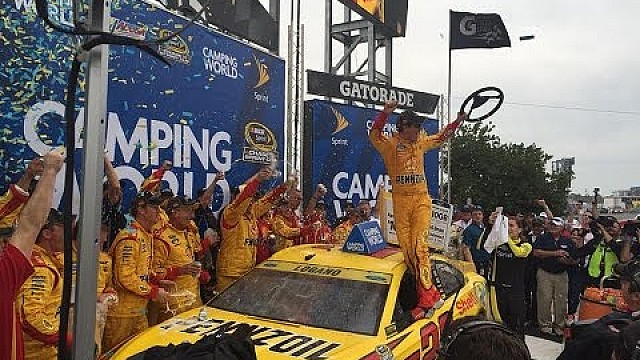 Logano Sweeps Contender Round, Both Team Penske Drivers Advance