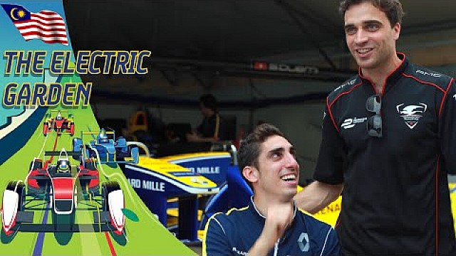 Jerome D'Ambrosio Gatecrashes Buemi Interview