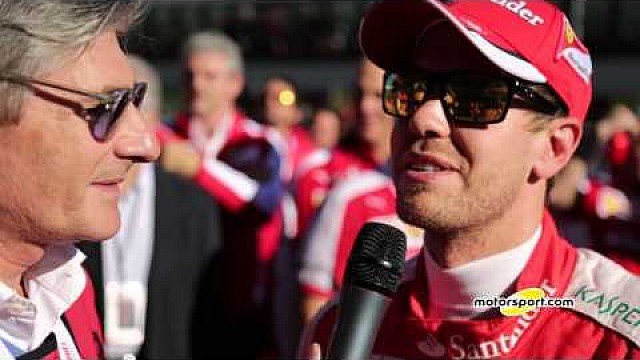 Ferrari World Finals | Exclusive interview with Sebastian Vettel