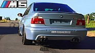 BMW M5 E39 SOUND vs BMW M3 SOUND E92 Stanic Performance Exhaust REVS Revving Battle BMW Fans Schweiz