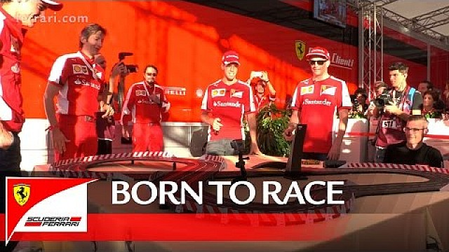 Kimi and Seb: born to race