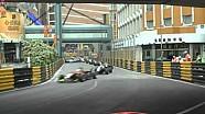 62e Macau Grand Prix Crash Compilatie: Zaterdag
