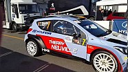 Monza Rally Show 2015: Thierry Neuville esce dai box per l'ultima speciale