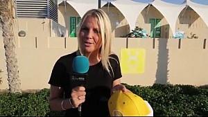 Mercedes merchandise giveaway - Abu Dhabi GP 2015