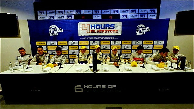 4 Hours of Silverstone Press Conference - LMP2
