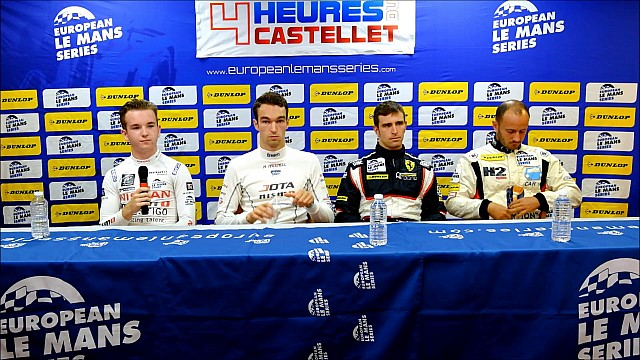 Qualifying Press Conference - 4 Hours of Le Castellet