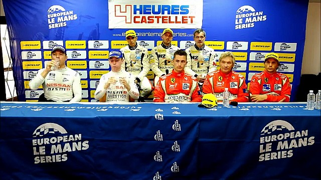 4 Hours of Le Castellet Class Winners Press Conference