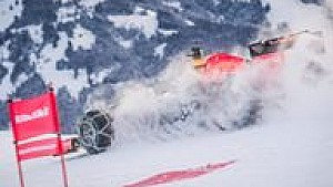 Formel-1-Showrun in Kitzbühel