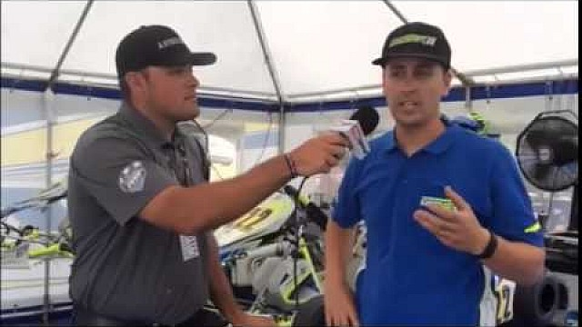 2015 Cold Stone United States Rotax MAX Challenge Grand Nationals - Justin Stefani Interview
