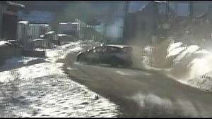 Авария Отта Тянака на Ралли Монте-Карло