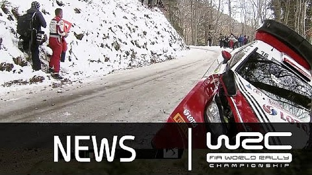 Rallye Monte-Carlo 2016: Stage 1-5