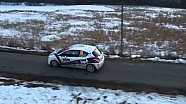 Rally Monte Carlo day 2 drone footage