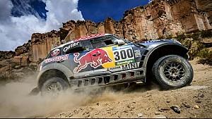 Off-Road Car Action From the Desert   Dakar Rally 2016