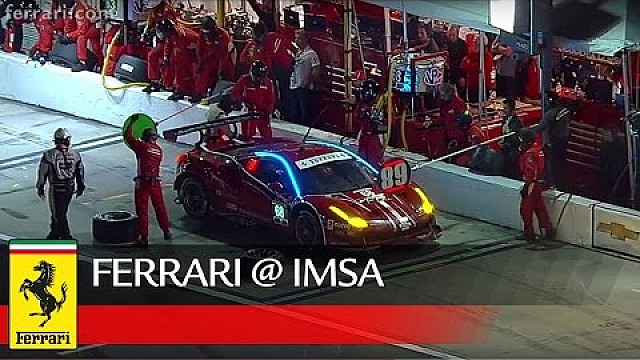 Encouraging début for the Ferrari 488 GTE in Daytona