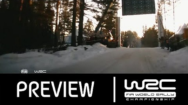 WRC Rally Sweden 2016: PREVIEW Clip