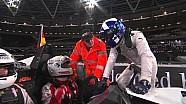 ROC London 2015 - Coulthard does Usain Bolt impression