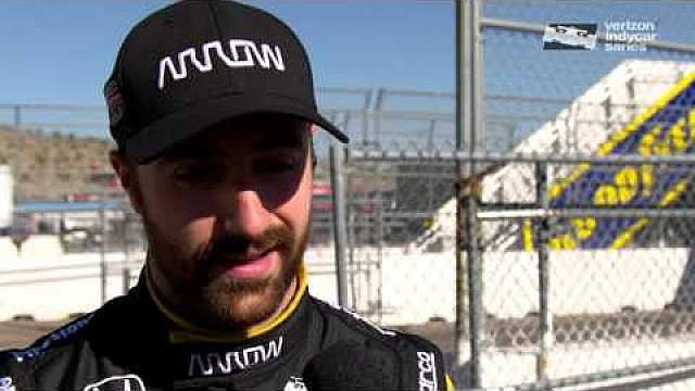 2016 IndyCar Phoenix Test Day 1