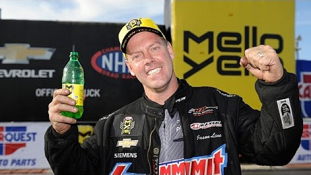 Jason Line wins Pro Stock Wally in Phoenix