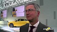 Rupert Stadler Interview - Geneva Motor Show 2016