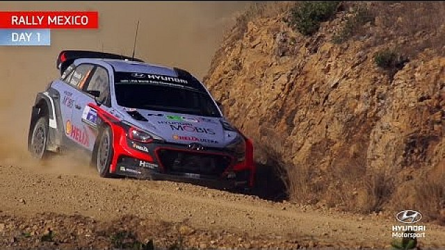 Rally Mexico Day One - Hyundai Motorsport 2015