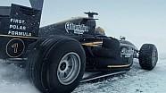 Алёшин на машине GP2 установил рекорд скорости на льду