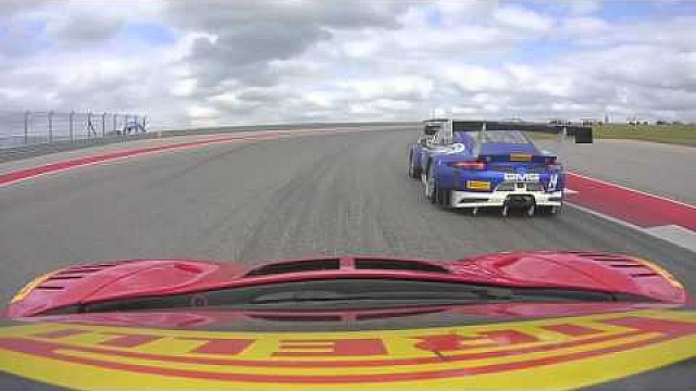 PWC 2016 COTA Onboard Highlights Jon Fogarty #99 GT