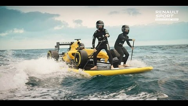 Renault F1's 2016 livery - Surf's Up!