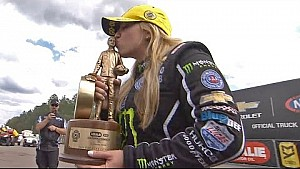 Brittany Force siegt in Gainesville