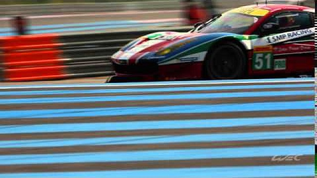 Ferrari 488 Italia at its first WEC action from The Prologue 2016