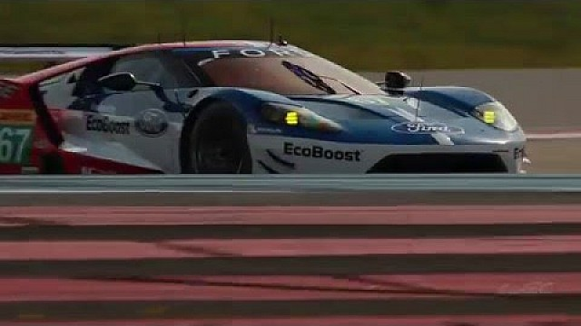 The new Ford GT at its first WEC action from The Prologue 2016