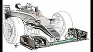 S-образный воздуховод Mercedes