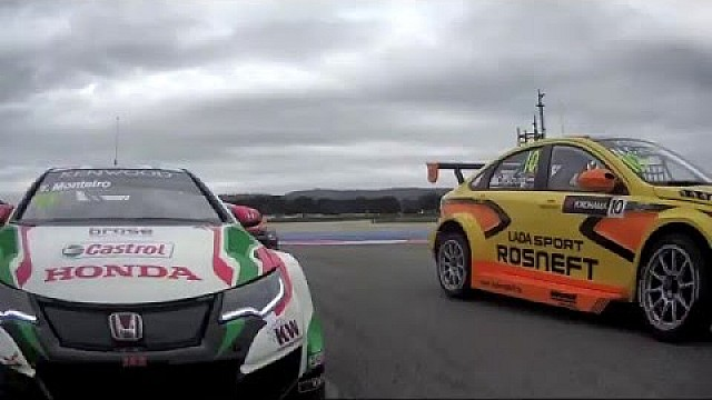 WTCC RACE OF FRANCE - Opening Race Highlights