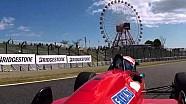 松田次生、念願のF1初ドライブ −フェラーリF187− @鈴鹿ファン感謝デー