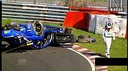 Серьезная авария Mercedes AMG GT3 на Нюрбургринге