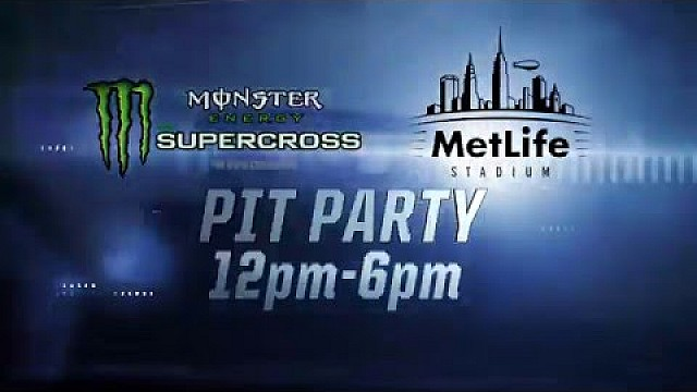 Monster Energy Party in the Pits - East Rutherford April 30