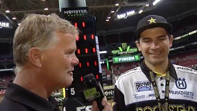 2016 - Race Day LIVE! - St. Louis - Jason Anderson Interview
