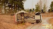 BMW crash Defa rally Finland 2016