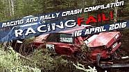 Racing and Rally Crash Compilation Week 16 April 2016