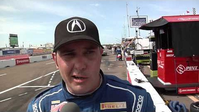 HPD Trackside - Pirelli World Challenge Acura TLX-GT St. Pete Race 1