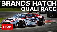 LIVE - Blancpain Sprint Series - Brands Hatch 2016 - Qualifying Race