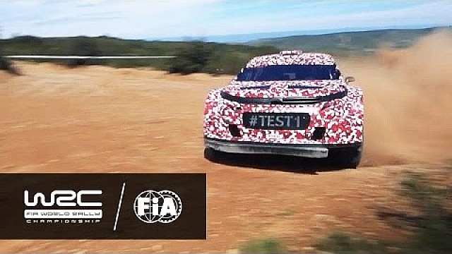 Rally Argentina 2016: Citroen Racing test WRC 2017