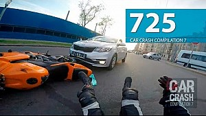 Car Crash Compilation # 725 - May 2016 (English Subtitles)