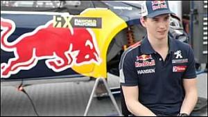 Timmy Hansen interview EN Friday Hockenheim Germany   Petit