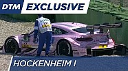 Lucas Auer off the track - Free Practice 2 - DTH Hockenheim 2016