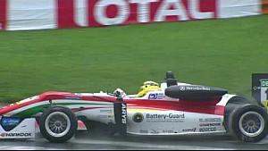 Лучшие моменты 1-й гонки Евро Ф3 в По