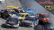 Crash met 18 wagens in NASCAR