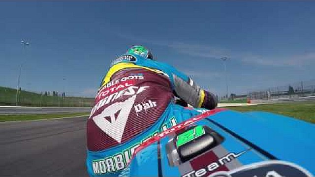 Onboard with Franco Morbidelli at Misano