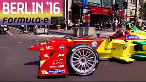 Daniel Abt Drives Formula E Car On The Streets Of Berlin!